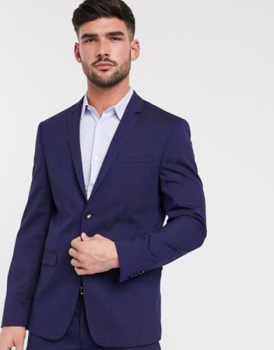 Calvin Klein— Tirrell— Ulden habitjakke-Marineblå