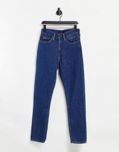 Calvin Klein - EST 1978 - Smalle jeans med lige ben i mørkeblå vask
