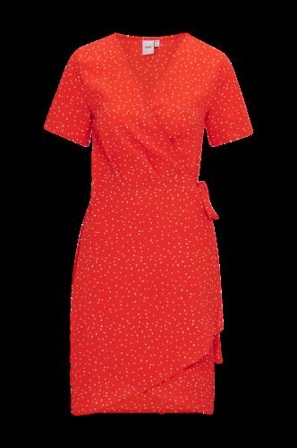 Slå om-kjole Bright Dress