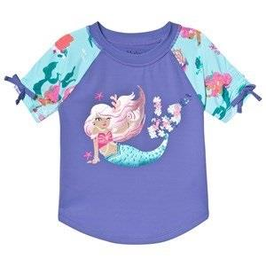 Hatley Mermaid Tales Rashguard Purple 2 years