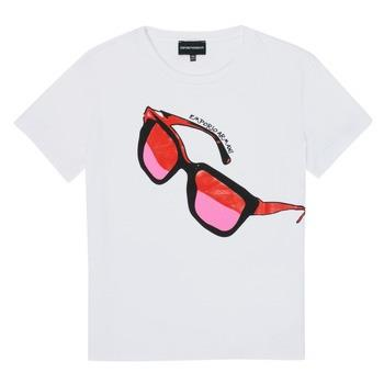 T-shirts m. korte ærmer Emporio Armani  6H3T7T-3J2IZ-0100
